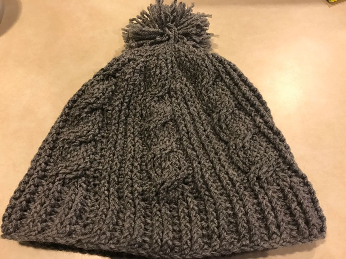 Crochet Cable Twist Hat  1d72b85283c1