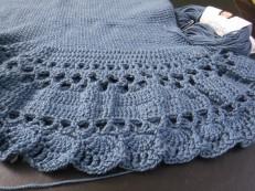 blue maxi skirt 2
