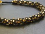 kumihimo with gold beads 4