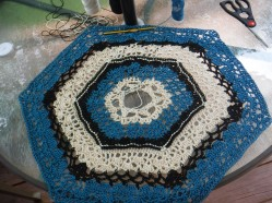 crochet patio table cover
