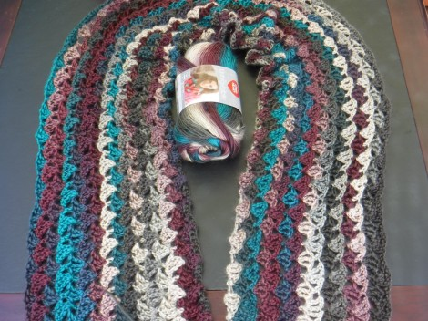 dancing butterflies wrap yarn 1