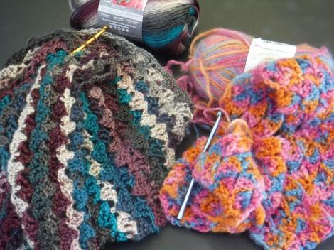 dancing butterflies wrap yarn 5