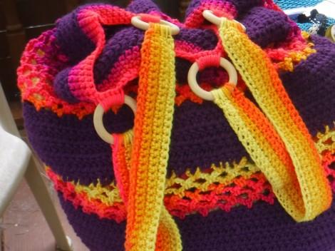 Jumbo Crochet Bag 1