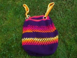jumbo crochet bag 5